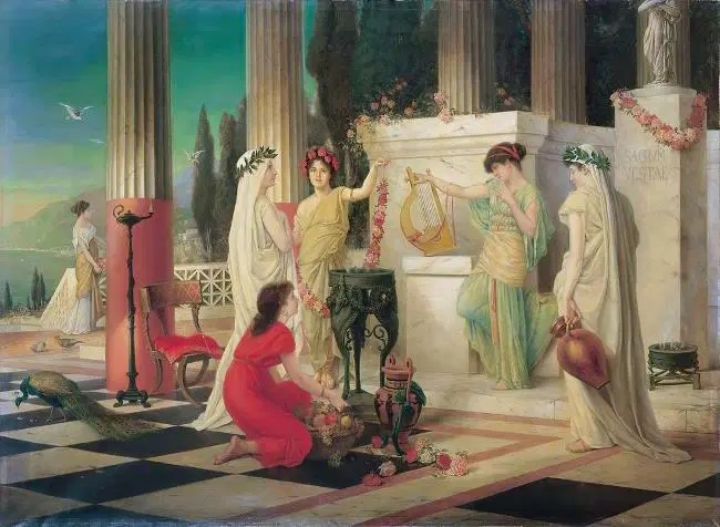 The Vestalia: Celebrating Vesta and Purifying Rome