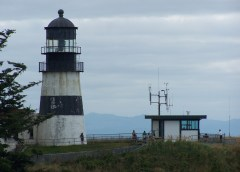 Cape Disappointment Light: the oldest functioning lighthouse on the West Coast