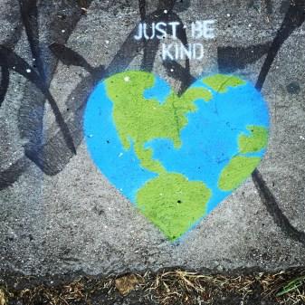 NVRALONE for #earthdaystreet2015 #waterlove2015