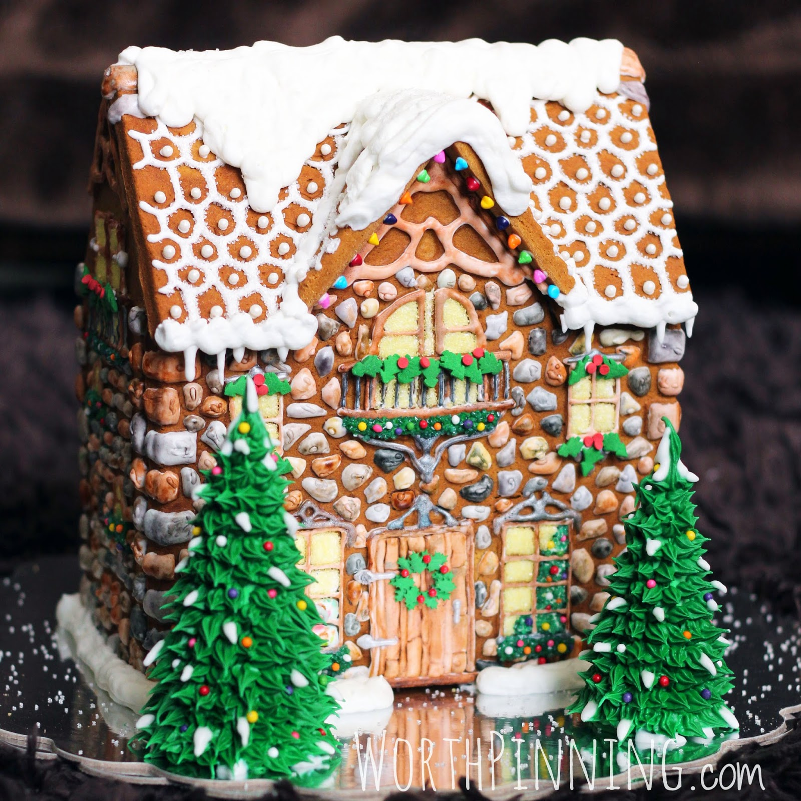 Gingerbread House Looks