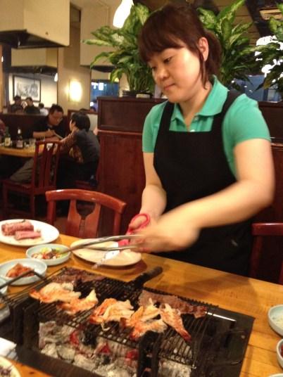 Our Korean BBQer - this was SOOO good!