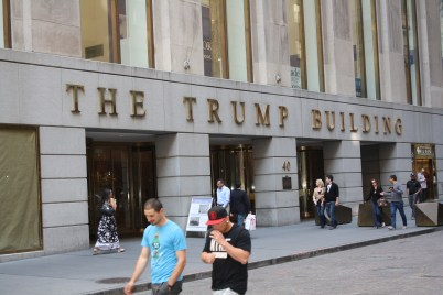 The Trump Building.