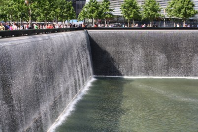 The 9/11 Monument - was very moving.