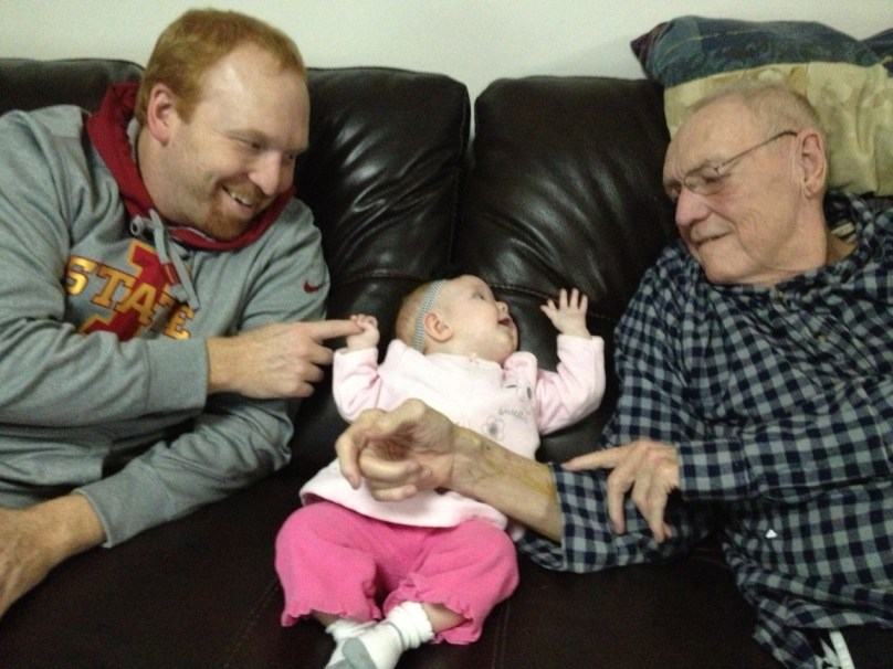 Oh - Grandpa Curt and Uncle Chris are so interesting!