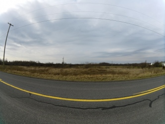 Example of a very wide angle shot