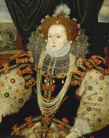 attributed to George Gower, oil on panel, circa 1588