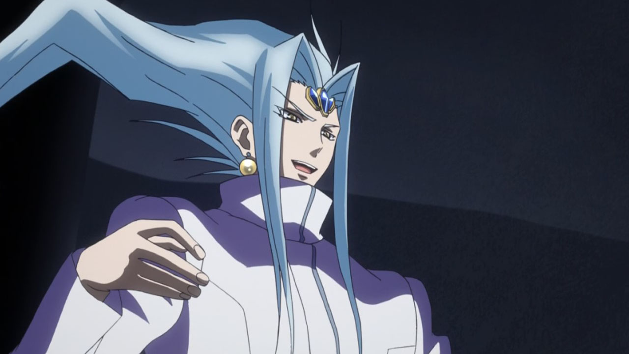 This interpretation of Loki is interesting. Gotta love his anime hair. :P