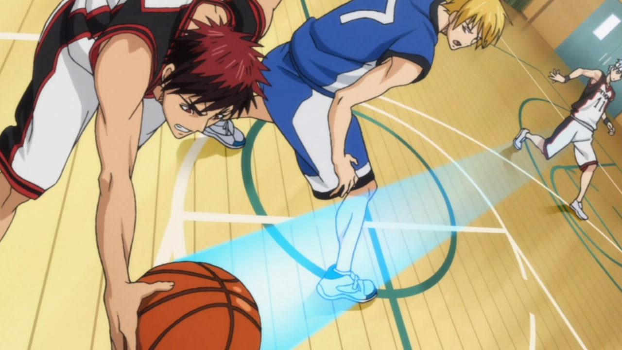Setelah Bertemu Dengan Kagami Kuroko Memutuskan Untuk Mendukung Kagami Menjadi Pemain Basket Terbaik Kuroko Merasa Apa Yang Ia Cari Selama Ini Ada Dalam