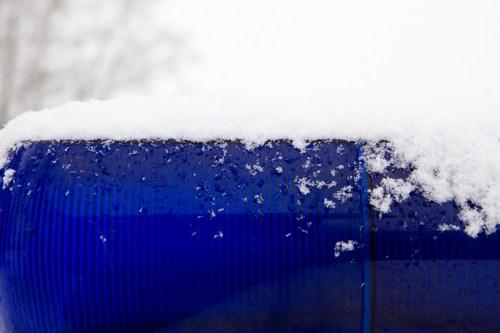 Siren and snow
