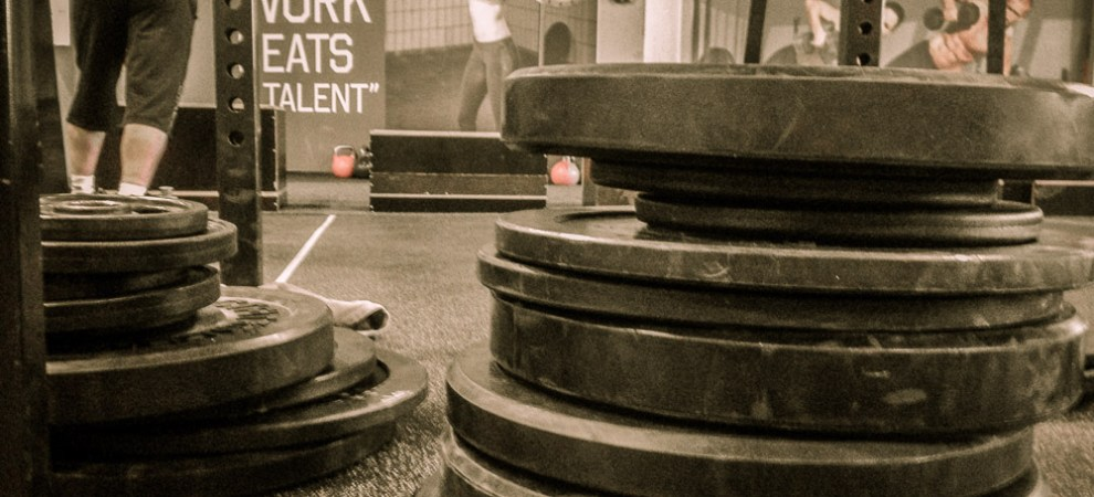 View of a CrossFit box