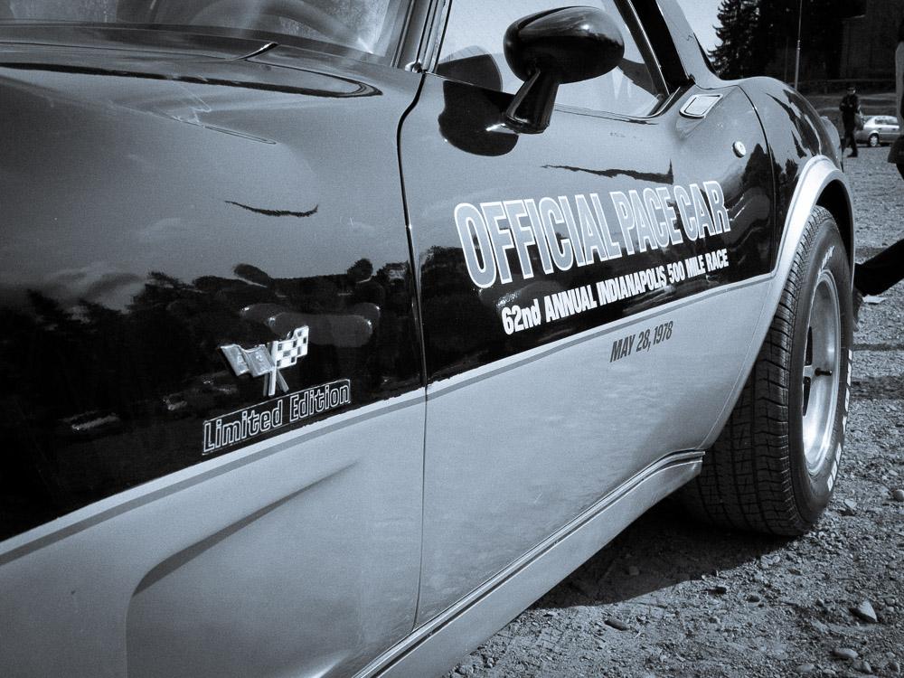1978 chevrolet corvette detail