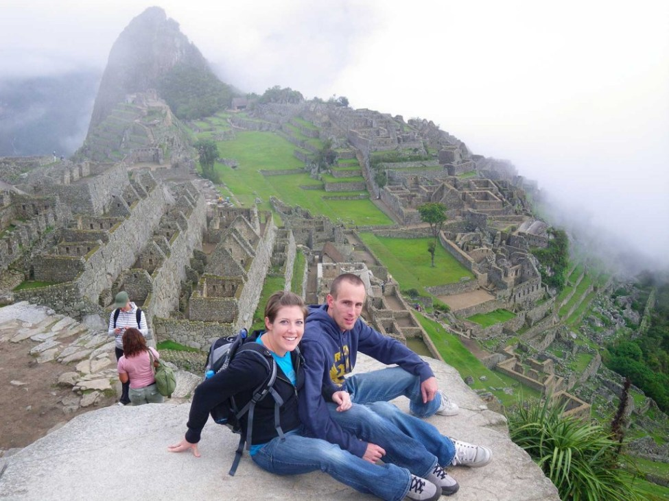 Josh and Jocelyn AM Machu Picchu