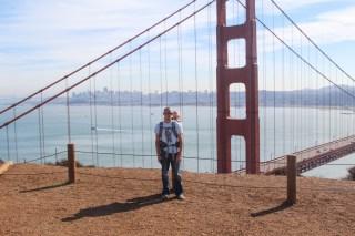Josh and Ry at the Golden Gate Bridge