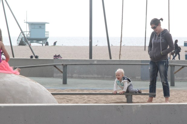 Playground at Santa Monica Peir
