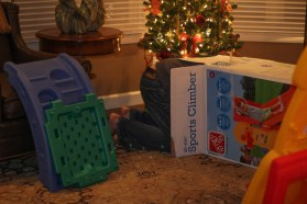 The box is more fun then the structure