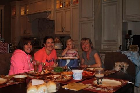 Dinner with Grandmas.