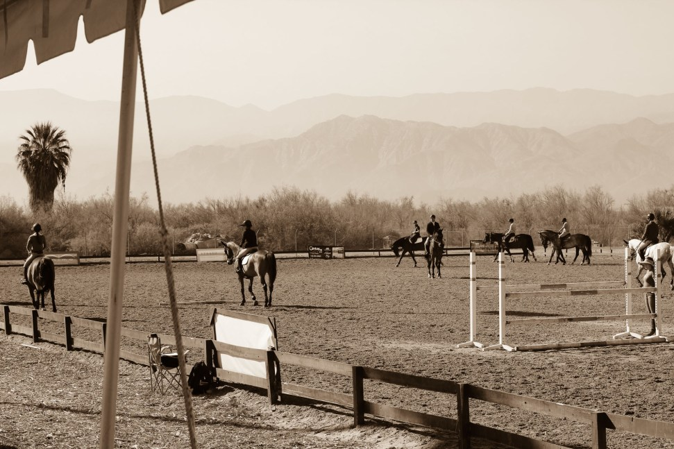 Thermal horse jumping