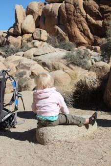 Our little rock climber
