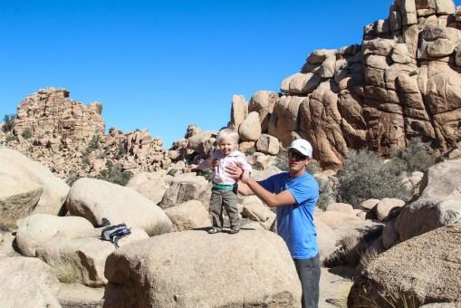 More rock climbing