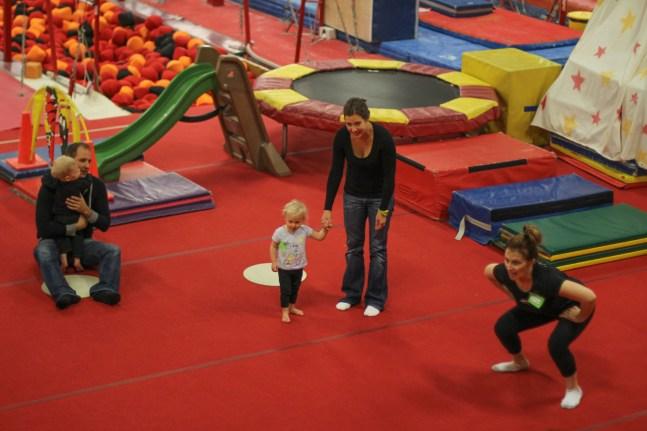 Gymnastics with Jocelyn