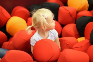 Ry in the foam pit