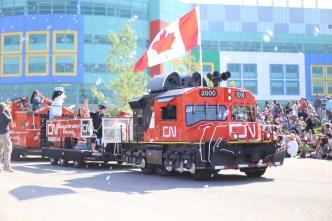 CN rail train