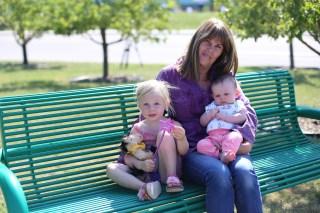 Grandma and her ladies
