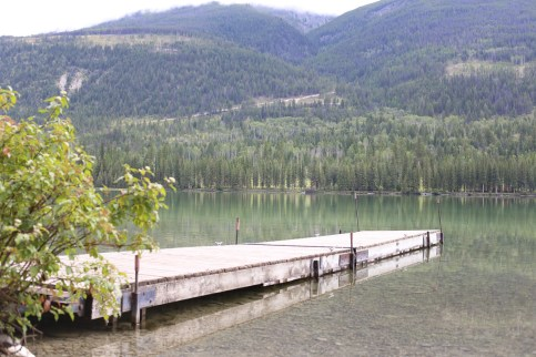 Smooth waters of Whitetail lake