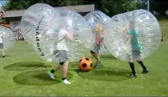 Bubble Football ou Futebolha
