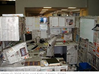 'Cubicle Panorama' photo (c) 2005, Kyle and Kelly Adams - license: http://creativecommons.org/licenses/by/2.0/
