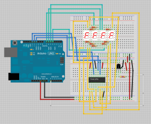 Arduino  Temperature on 4 digit 7 segment display | Random Nerd Tutorials