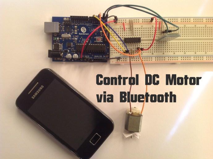 Arduino - Control DC Motor via Bluetooth   Random Nerd Tutorials