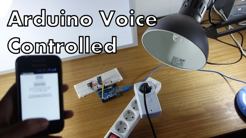 Control your Arduino with Voice Commands [Android App