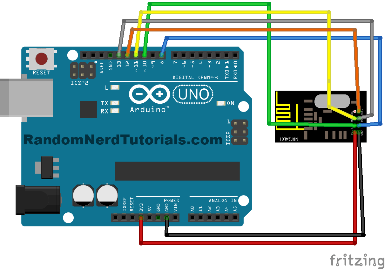 Arduino Transceiver Circuit - Wiring Diagram & Electricity Basics 101 •