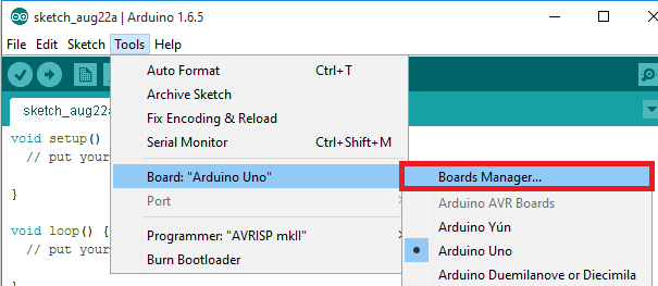 Install ESP8266 Boards Arduino IDE Boards Manager