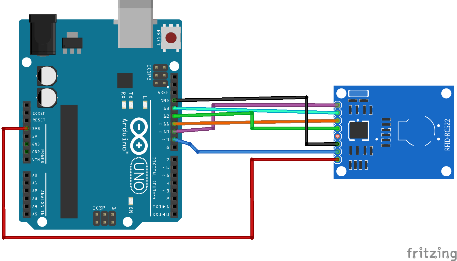 Mfrc522 Rfid Reader With Arduino Tutorial Random Nerd Tutorials Circuit Basics Your Students And Have Them Build A Closed Reading Data From Tag After Having The