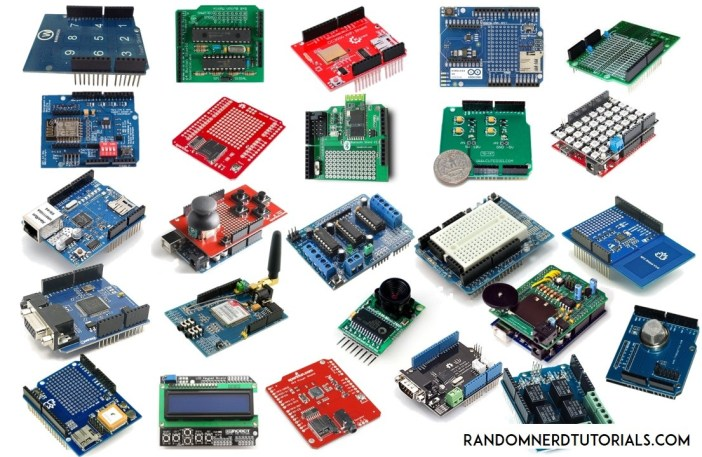 25 Useful Arduino Shields That You Might Need to Get