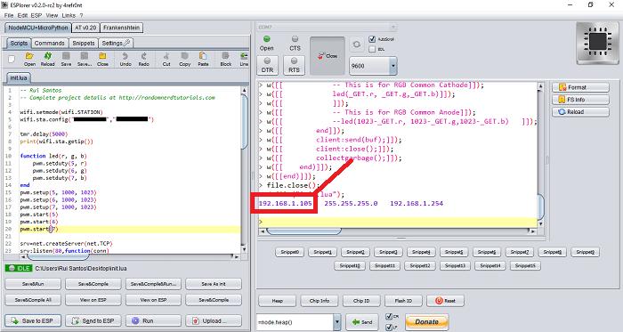 ESPlorer IDE - fixed