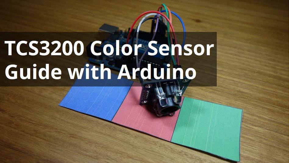 TCS230 TCS3200 Color Recognition Sensor Farberkennung Modul MCU Arduino