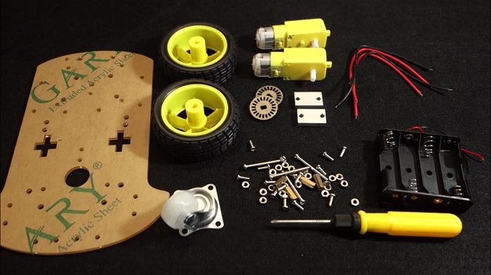 Build Robot Car Chassis Kit Arduino   Random Nerd Tutorials