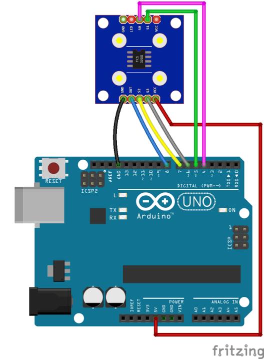 Arduino color sensor tcs random nerd tutorials