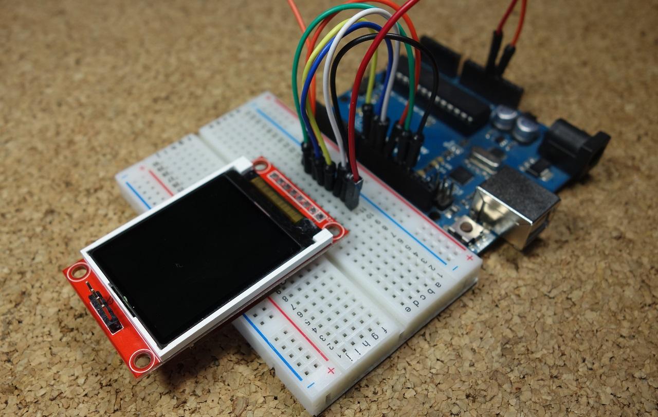 Guide to 1 8 TFT Display with Arduino | Random Nerd Tutorials