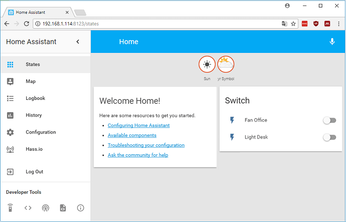 Getting Started with Home Assistant on Raspberry Pi | Random