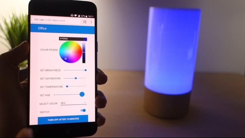 Node-RED Xiaomi Mijia Bedside Lamp | Random Nerd Tutorials