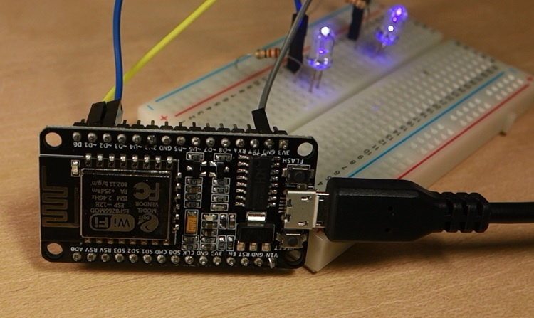 ESP8266 Create a Web Server Using NodeMCU Firmware
