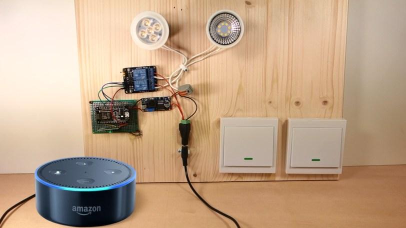 Alexa (Echo) with ESP32 and ESP8266 | Random Nerd Tutorials