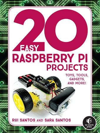 20 Easy Raspberry Pi Projects Book | Random Nerd Tutorials