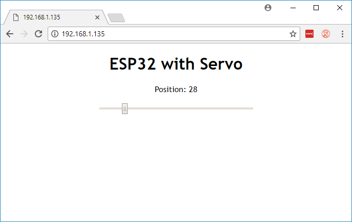 ESP32 Servo Motor Web Server with Arduino IDE | Random Nerd Tutorials