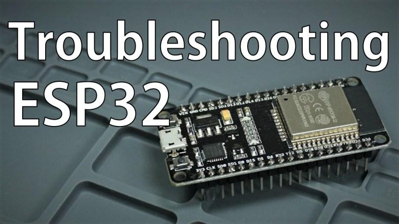 ESP32 Troubleshooting Guide | Random Nerd Tutorials
