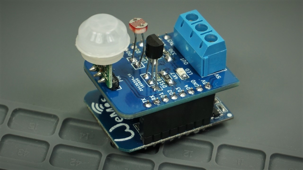 Build Multisensor Shield For Esp8266 Random Nerd Tutorials Relay Circuit Tutorial The Has Temperature Sensor Ds18b20 A Pir Motion An Ldr And Terminal To Connect Module Well Start By Preparing All